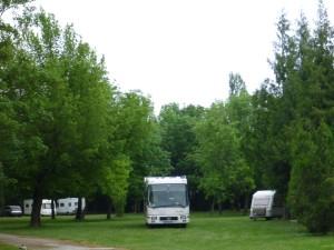 Hubert campsite
